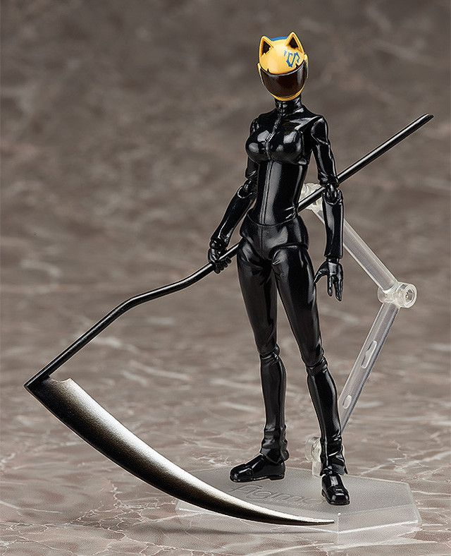 """Crunchyroll - """"Durarara!! x 2"""" Celty Figma Doesn't Need A Head To Show Off Her Poses"""