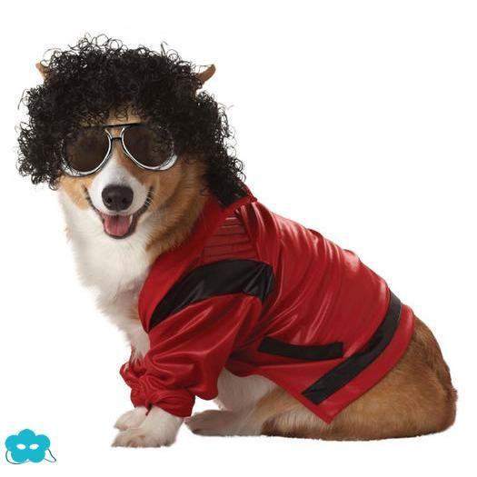 ../Disfraz de Michael Jackson Thriller para perro
