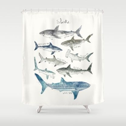 1000 ideas about shower curtain rods on pinterest industrial shower curtain rods farmhouse for How do sharks use the bathroom