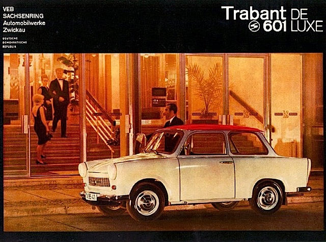 Trabant 600 DeLuxe - East Germany 1966 #trabant #classiccar  The only car you can fix while driving.