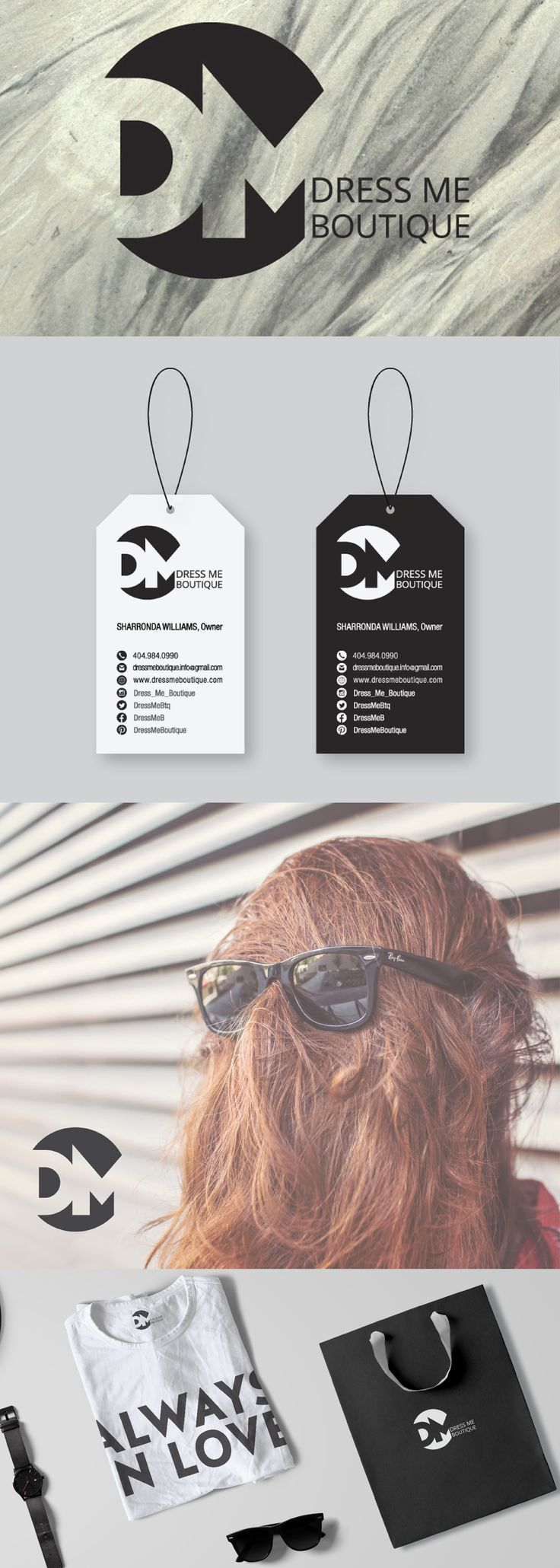 Best 25 online fashion stores ideas on pinterest minimalist clean and bold logo design and branding system for an online fashion store the unique business cards remind stylish price tags lets panda for dress me magicingreecefo Choice Image