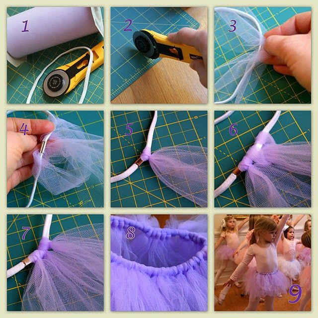 how to make tutus for girls