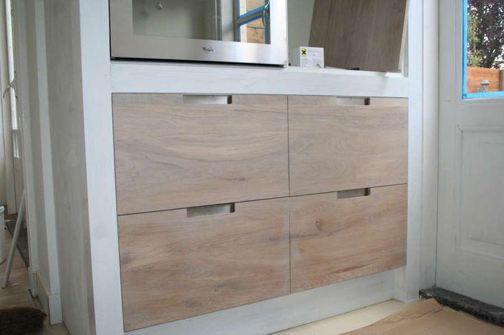 Koak design keuken met betonnen aanrecht blad ikea for Koak keuken
