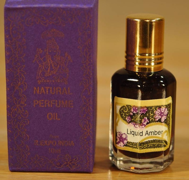 """Song of India Natural Perfume Oil """"Liquid Amber"""" In My"""