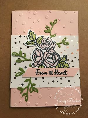 Inspired Stamping by Janey Backer: Sale-a-bration New Products