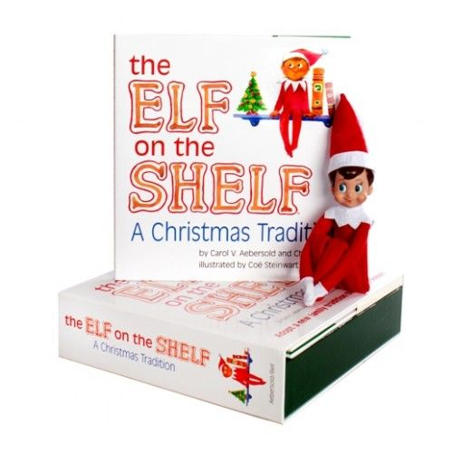 Elf on the Shelf: A Christmas Tradition  Bring back the joy and wonder of the Christmas spirit this year with your family, with this wonderful Elf on the Shelf: A Christmas Tradition set! #alltotstreasures #theelfontheshelf