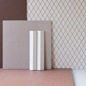 Bouroullec+brothers+design+textured+Rombini+tile+collection+for+Mutina