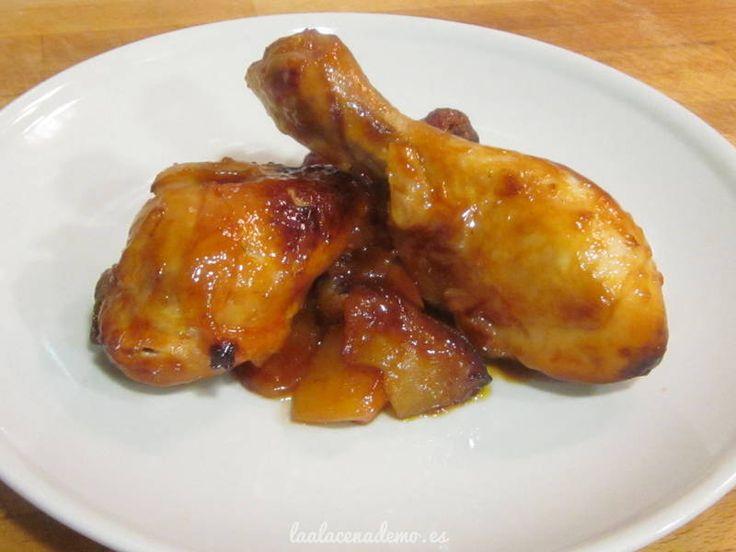 Pollo asado con ketchup y miel - La Alacena de MO
