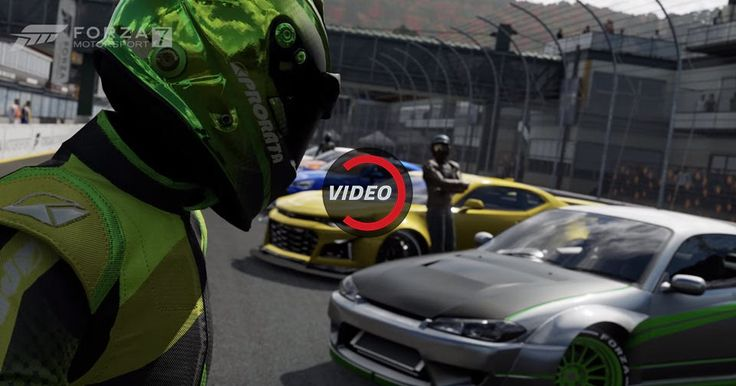 Forza 7 Motorsport Looks Better Than We Ever Expected #Forza #Games