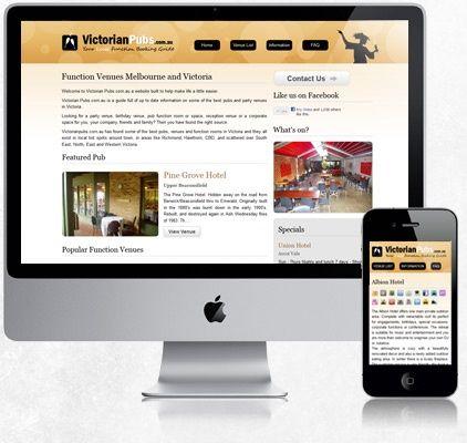 Victorian Pubs #WebDesign #ResponsiveDesign #ResponsiveWebsites #MobileWebsites