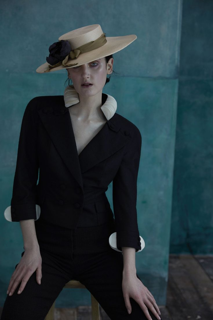 Precious Hour by Prudence Millinery for Lock & Co Couture SS2017