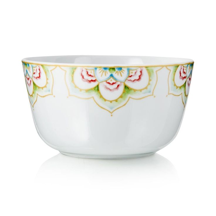 'Lotus' Porcelain Bowl