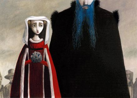 Once Upon A Blog...: Bluebeard Illustration Roundup - Bluebeard by Benjamin Lacombe*
