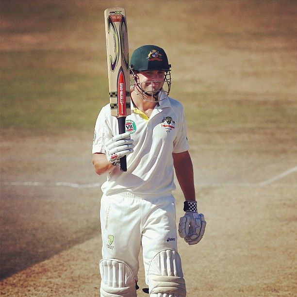 Ed Cowan made a great return for the Australian XI v Sussex, posting 66 & 77no at Hove #Ashes #Cricket