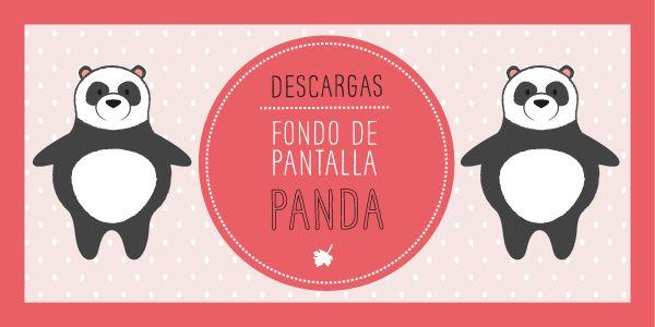 FONDO DE PANTALLA PANDAS !!!