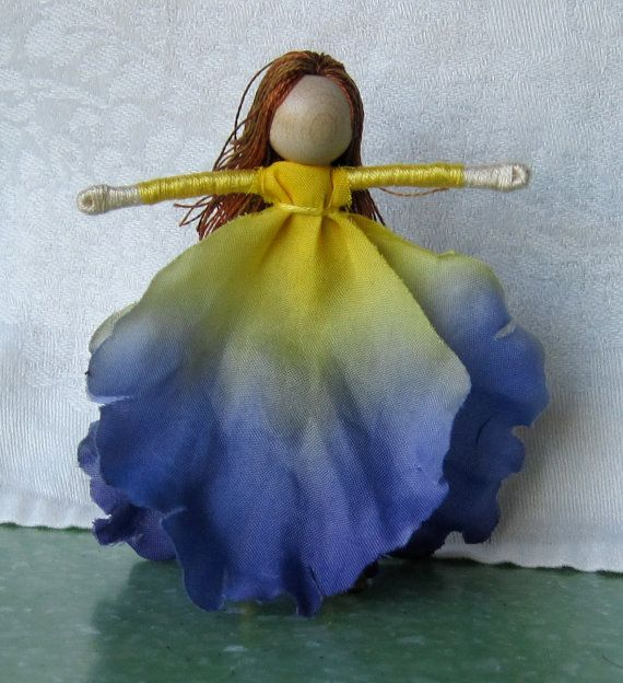 Waldorf Flower Fairy Doll- I can wait till I have the time to make these.  How much fun!