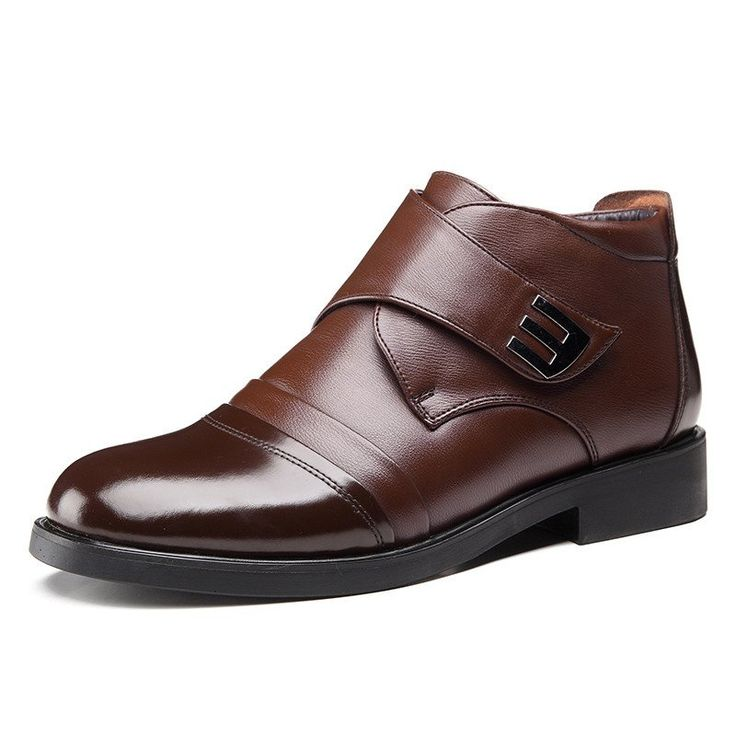 Men Dress Boots - Genuine Leather