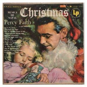 #Christmas – #Música de #Natal – #PercyFaith e sua #Orquestra - #vinil #vinilrecords #temas