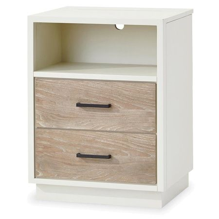 #MyRoom Modern Kids Nightstand - White