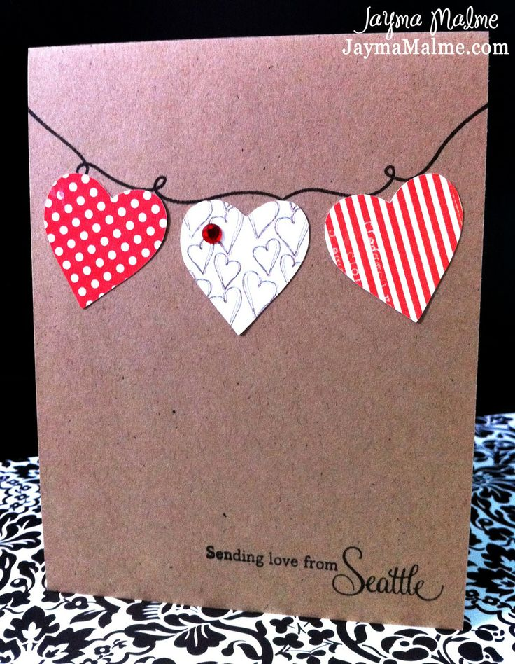 Playing with Paper: CTMH Scrapbooks, Cards & DIY: Clean and Simple Valentine Cards