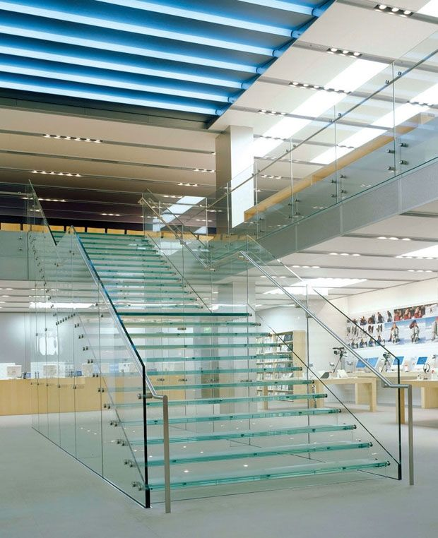 86 Best Modern Stair Glass Images On Pinterest Glass