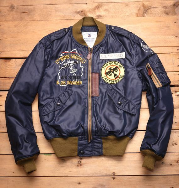 【Toys McCOY】L-2B 34th BOMB SQ Flight Jacket