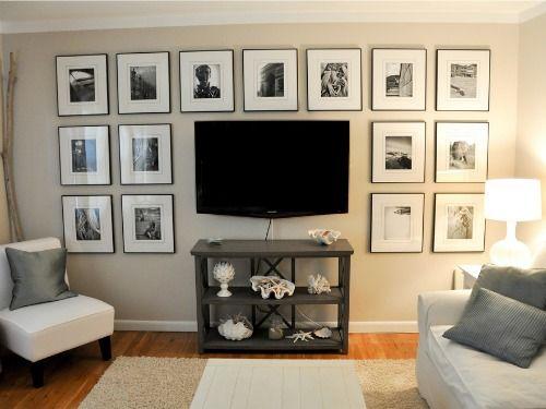 brillante idée pour intégrer les télés murales !
