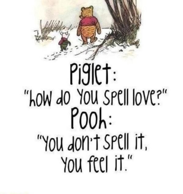 Every #Mumma knows this to be true. #Piglet and #Pooh always say it best, don't they?