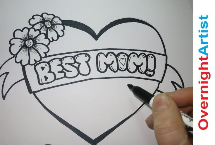 Draw Best Mom How To Draw Best Mom Graffiti Bubble Letters Di 2020