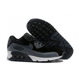 Nike Air Max 90 Leather Siyah Unisex Spor Ayakkabı