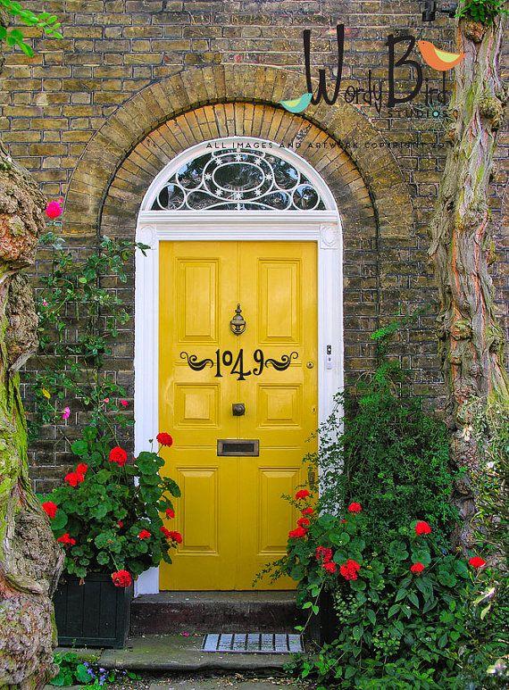 Numéros de porte numéros adresse autocollant par wordybirdstudios
