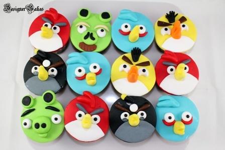 I made these cupcakes (red bird, yellow bird, blue bird) and they turned out sooooooo cute.