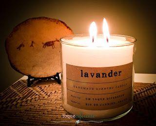 Como fazer velas personalizadas (etiqueta personalizada feita com Silhouette Cameo)  How make scented candles (custom label made with Silhouette Cameo)