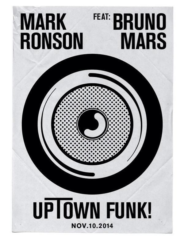 Mark Ronson and Bruno Mars - Uptown Funk   Great jam!  Reminds me of Morris Day and the Time!