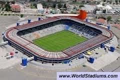 Estadio Hidalgo en Pachuca, Hidalgo. Casa de los Tuzos del Pachuca.