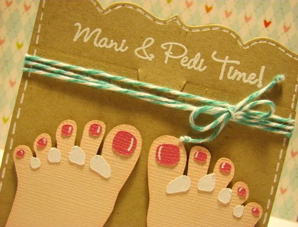 free pedicure gift certificate template - great idea for a gift card crafts pinterest