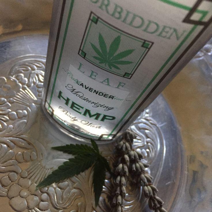 Forbidden Leaf Lavender Hemp Seed Oil Body Wash