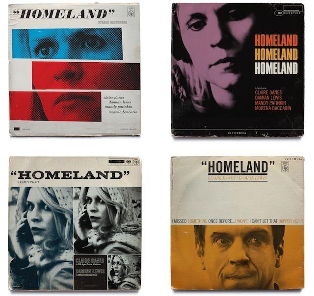 Homeland TV Shows As Jazz Vinyls Covers – Fubiz™