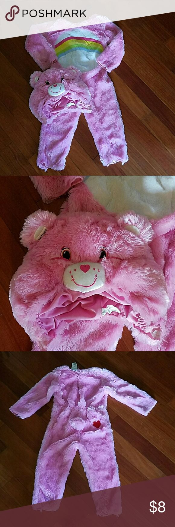 Spotted while shopping on Poshmark: PINK CARE BEAR HALLOWEEN COSTUME TODDLER 3 4T! #poshmark #fashion #shopping #style #Other