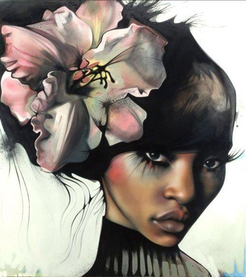 American Female Artist Know For Large Paintings Of Flowers