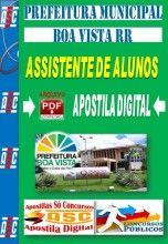 APOSTILA CONCURSO PREFEITURA DE BOA VISTA RR ASSISTENTE DE ALUNOS 2014 NOVO CONCURSO PRF POLICIA RODOVIÁRIA FEDERAL AGENTE ADMINISTRATIVO 2...