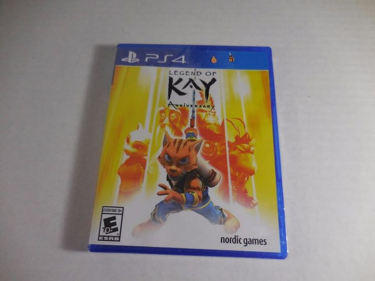 Legend of Kay Anniversary (Sony PlayStation 4, 2015) Factory Sealed