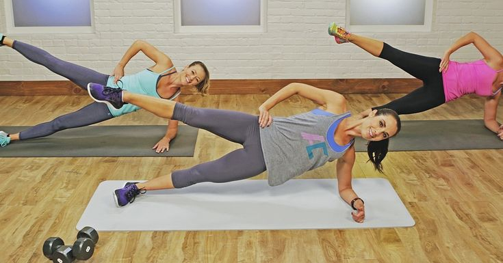 Short on time? Then this is the workout for you. Autumn Calabrese, creator of the 21-Day Fix, shortened her signature Dirty 30 Workout just for us. It may only be 15 minutes long, but every second is designed to tone you all over while keeping your heart
