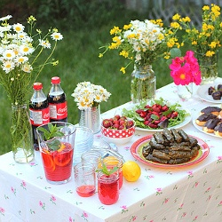 A strawberry picking party with lots of fun recipes and ideas.