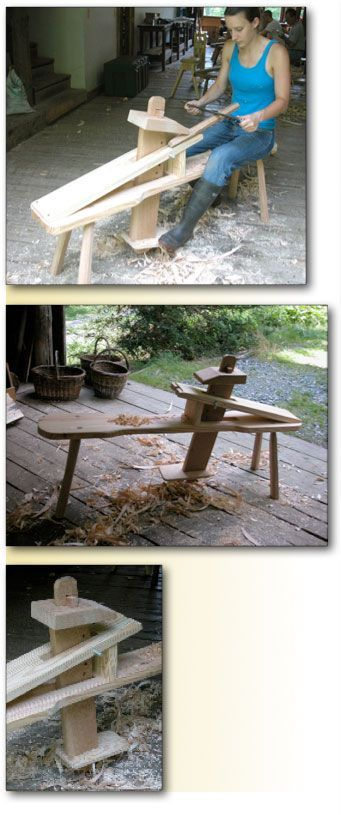 Make a Classic Shaving Horse at Country Workshops