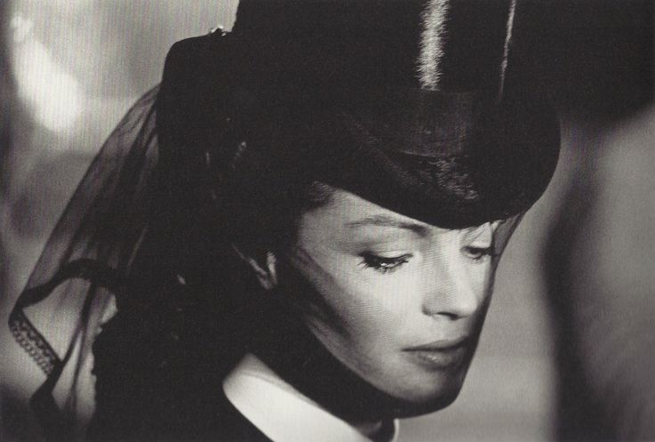 Portrait of Romy Schneider in Ludwig directed by Luchino Visconti, 1972. Photo by Mario Tursi