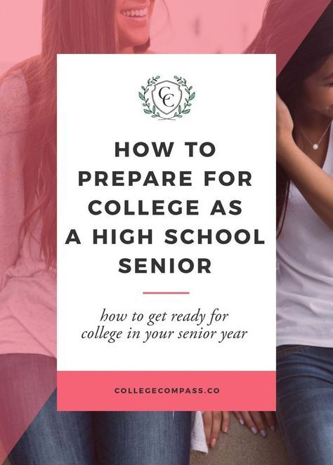 The best way to get the most out of your college years is to start preparing early. Check out this post on how to preare for college as a high school senior; save for later and click through to read!