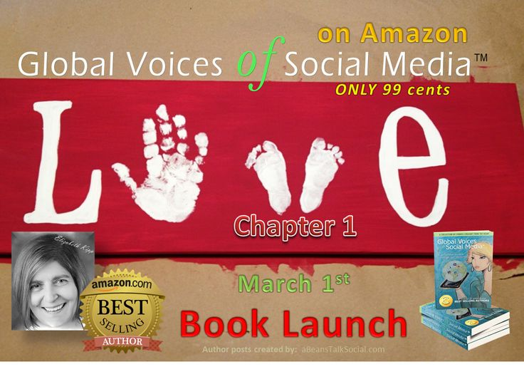 Meet @lizilynx in Chapter 1 called 'Can You Love Yourself Now? Global Voices of Social Media ™ is available on amazon for only 99 cents through #March in honor of #WomensInternationalMonth.