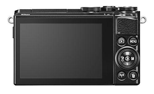 Vergleichen Sie Preise für Nikon 1 J5 Systemkamera (20 Megapixel 75 cm (3 Zoll) Display 4K-Videoaufzeichnung Funktionswählrad Einstellrad Funktionstaste WiFi NFC USB HDMI) nur Gehäuse schwarz Online