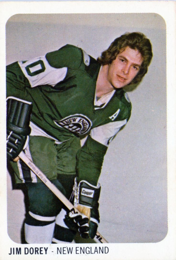 Jim Dorey of the New England Whalers (WHA).